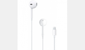 Apple Earpods with Lightning Connector W
